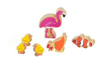 Wooden animals for Early Soundplay Bundle 2